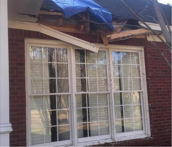 Storm Damage – Monroe Home Before
